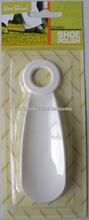 Circular wholesale short plastic shoe horn
