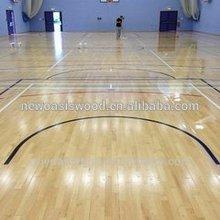 oak basketball gym flooring