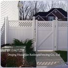 Vinyl fence pvc privacy lattice