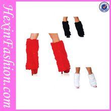 Hexin Wholesale Fashion Red White Black Leg Warmer