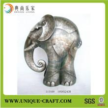 New product antique style decorative elephant metal home interior decoration