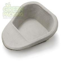 Green packing medical pulp bedpan