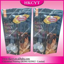 Plastic Mylar Dog Treat Packaging