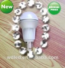 D60*120MM led light bulb e27 impact resistant