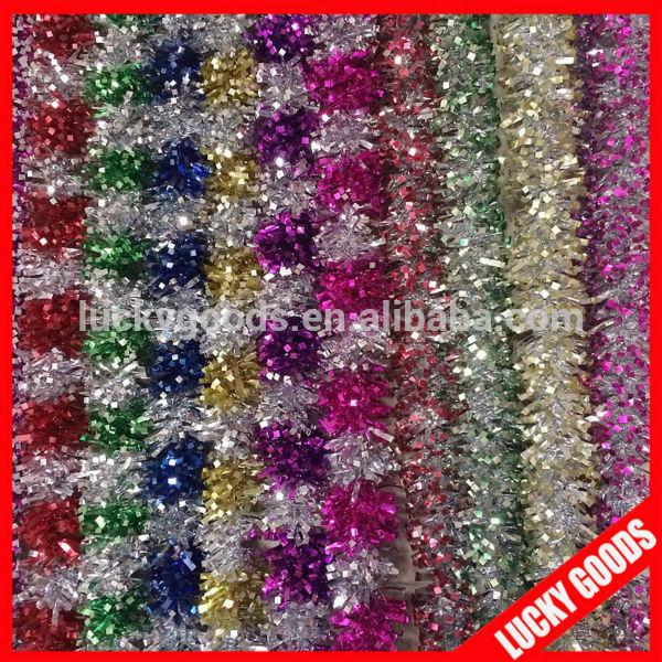 coloreful hanging christmas ornaments christmas garland