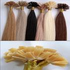 Wholesale Top Quality 5A Brazilian Virgin Remy U Tip Italian Keratin Pre-bonded Hair Extension