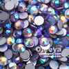 Hot! Best-selling Full Size Smoked Topaz AB Glass Non Hot Fix Flat Back Rhinestones Crystal Diamonds for Nail Decoration
