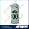 basquete universitário projetos uniforme