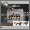 Wood floor coating machine
