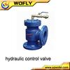 excavator hydraulic flow control valve