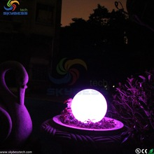 Artistic Vase Lamp/Emergency torch bedroom night light,color changing mood led light ball