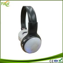 High definition stereo wireless headphones built in memory,hifi portable headphone