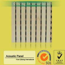 high quality 16mm acoustic sheet / perforated panel / acoustic mdf for decoration