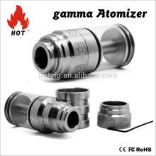 Cloutank vaporizer e-cigarette glass tank Gamma atomizer 1:1clone & ecigarette atomizer in hotcig