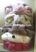 knit oversized shawl