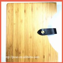 Handbag Carbonized Bamboo wooden case for ipad air/5, high quality wood phone case for ipad 5 bamboo wood case