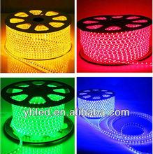 120V&230V CE&RoSH led strip IP67 led 6mm 110v led strip led ribbon full color led strip connector clip dream products