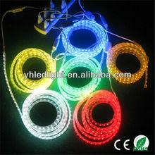 110V&220V CE&RoSH IP67 led light 3528smd 220v led light shenzhen rope light dream products