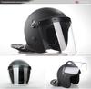 Black Anti Riot Helmet / police military anti riot helmet