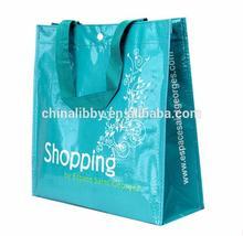 Matt/Glossy bopp laminated pp woven bag for Promotion