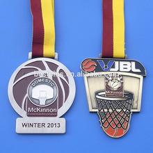basketball association winner medals, basketball sprots medals