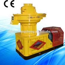 CS biomass vertical ring die white pine pellet machinery /white pine pellet making machine