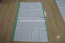 white pp woven bag /pp woven sack for packing wheat flour ,rice ,sugar