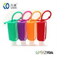 hand sanitizer gel bag/empty hand sanitizer bottle/ silicone hand sanitizer holder