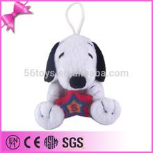 China factory animal sound plush dog toy kids dog toy big ears plush dog toy