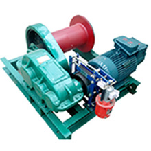 Auto electric winch, 1-100 T electric winch for boat