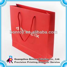 2014 Custom printed bags &printed paper carrier bag & little paper bags