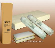 vacuum pack memory foam mattress topper