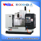 high speed 3 axis vertical linear guideway cnc milling machine with price VMC1200 with SIEMEMS control system
