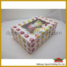 wholesale customized cupcake tin box
