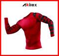 2014 manga comprida roupa de jogging camisas de compressão com alta qualidade
