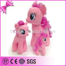 good fabric China big fine toy horse stuffed toy plush standing horse