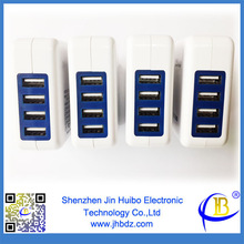 4 Port USB Charger 4 Port USB Wall Charger 4 USB Charger