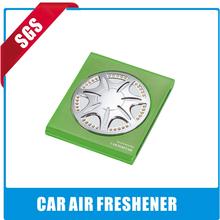 2014 hot sales customized car air freshener aroma