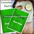Soins de la peau de mode conçu pofessional hydratant& lissage concombre naturelles visage masque de boue