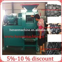 Over 98% briquetting rate calcined anthracite coal briquette press machine for sale