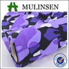 Mulinsen textile fashion dress FDY print fabric 96 Polyester 4 spandex 200gsm pink camouflage fabric