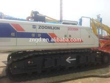 zoomlion crawler crane 50T,original engine and hydrulic system,cheap price