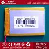 China manufacturer customized li ion polymer battery 3.7v 2800mah
