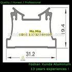 Factory supply aluminum window extrusion profile with u shape aluminum channel extrusion, I shape F profile aluminum channel
