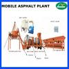 Economical and Practical Mobile twin drum asphalt plant 8TPH