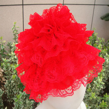 Fashion style lace baby hats factory direct sale