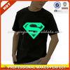 Men cotton logo print short sleeve superman t-shirt(YCT-C0286)