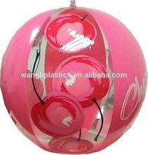 New style girls beach ball inflatable pink big beach ball