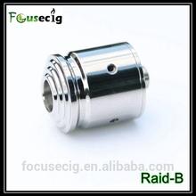 atomizer stainless steel rebuildable atomizer tank Raid-B refill oil electronic cigarette