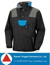 Waterproof outdoor thermal fleece inner pullover men winter jacket